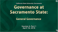 General Governance