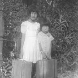 two children who were interred