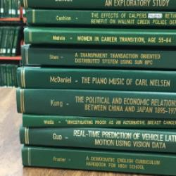 stack of sac state theses