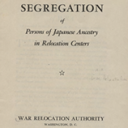 CSU Japanese American Digitization Project: Documents and Textual Items