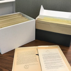 Manuscripts and Organizational Records