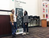 charging stations with students