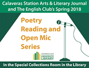 Poetry Reading and Open Mic Image