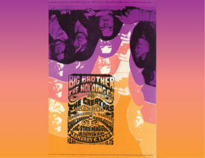 Poster featuring the band Big Brother